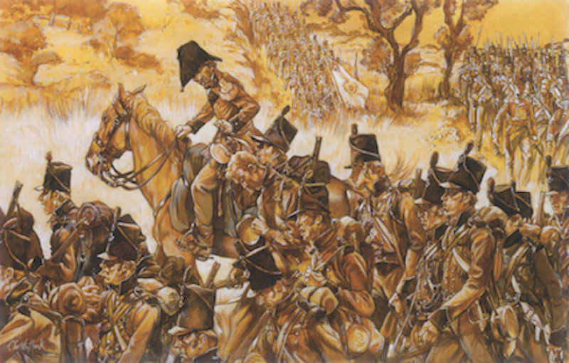 The Talavera March, Craufurd's Light Brigade