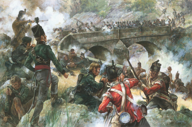 The Repulse of the 66th Grenadiers, Coa Bridge